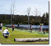 Lake driving range at Mandeni